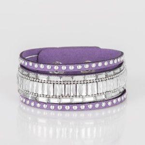 Purple bracelet paparazzi